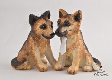 German Shepherds in Love