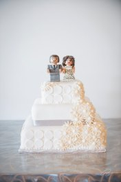 Katherine's Lego Wedding Cake Topper