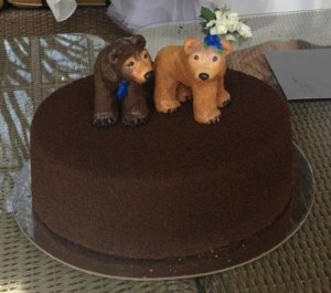 Suzie's Bear Cake Toppers