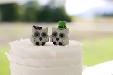 Owls Wedding Cake Topper