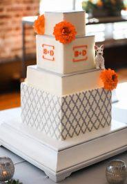 Bobbies Little Dog Wedding Cake Topper