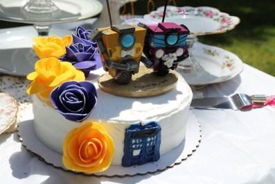Laura's Claptrap Cake Topper