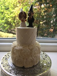 Diedre's Gnome Wedding Cake Topper
