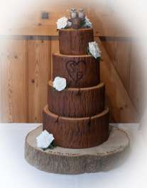 Emilys Owl Wedding Cake Topper