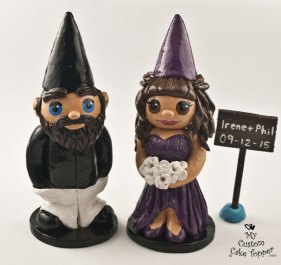 Gnome Bride and Groom