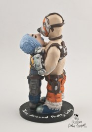 Maya and Krieg from Borderlands