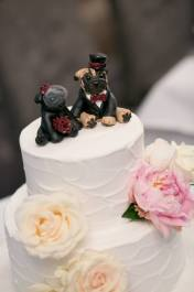 Sarita from Bride to Be Magazine Pug Cake Topper