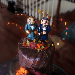 Scott and Mike's Cake Topper