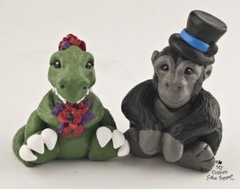 T-Rex and Gorilla
