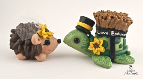Turtle and Hedgehog in Love