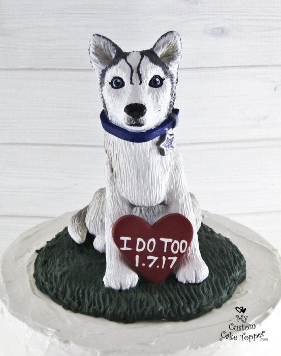 Dog Wedding Cake Toppers My Custom Cake Topper