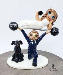 Bride Groom Crossfit Weightlifting