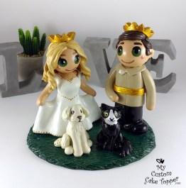 Bride and Groom Prince And Princess