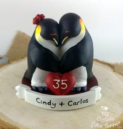 Cuddling Penguins Anniversary