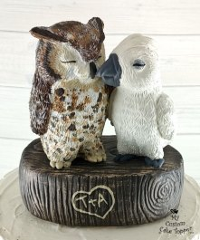 Cockatoo Parrot and Owl