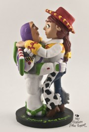 Toy Story Buzz Light Year and Jessie Cake Topper
