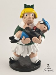 Little Lotta and Gerald Cake Topper