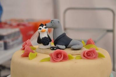 Steve's Penguin and Seal Cake Topper 1