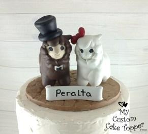 Alpacas Cartoon Cake Topper
