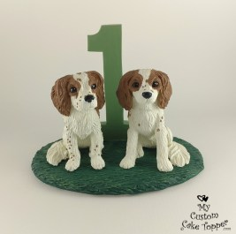 King Charles Cavalier Custom Cake Topper