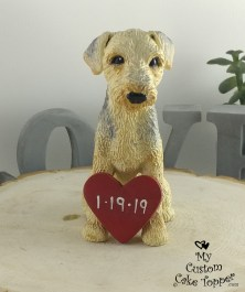 Labradoodle Custom Wedding Cake Topper
