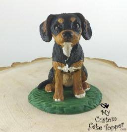 Puggle Odie Pet Portrait Sculpture