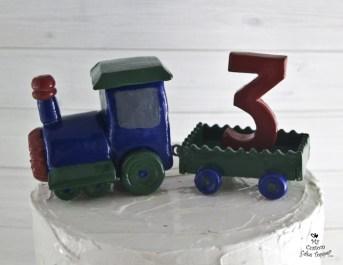 Birthday Train Cake Topper