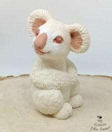 Albino Koala Sculpture