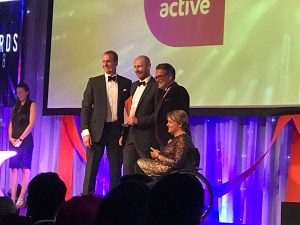 MyCustomerLens win ukactive Research Impact Award