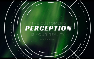 Lens with quote - collecting feedback the customer perception is your reality