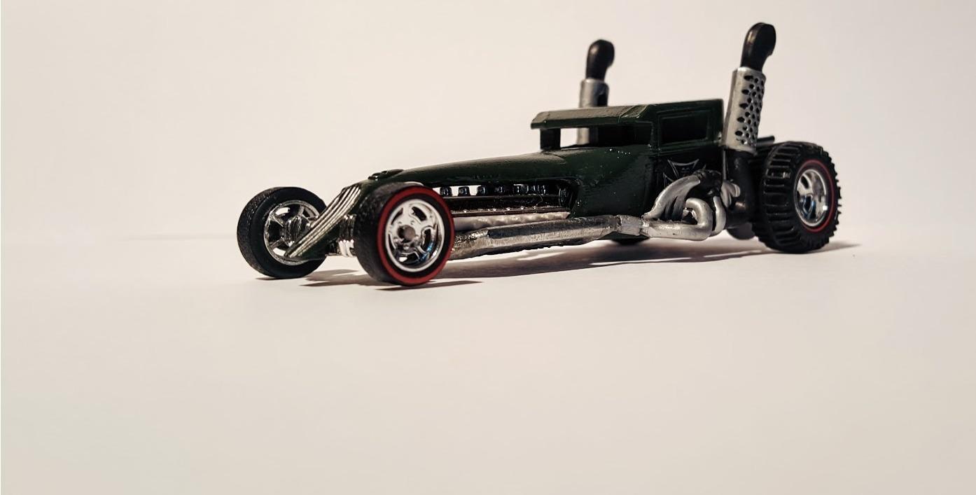 badass boneshaker custom hotwheels