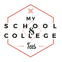 my custom tees - my school and college tees
