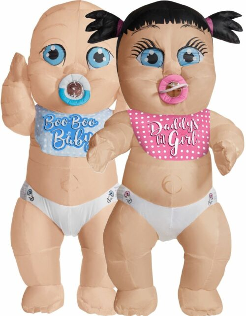 Big Inflatable Baby for gender reveal party