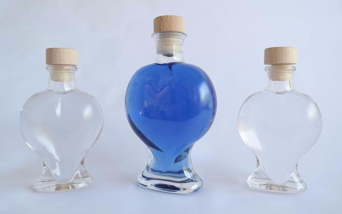gender reveal transparent liquids