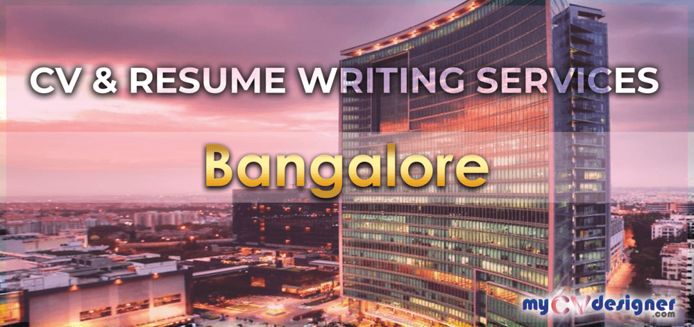 CV and Resume writing services in Bangalore