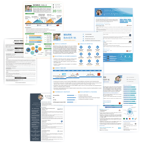 resume-templates-by-profession
