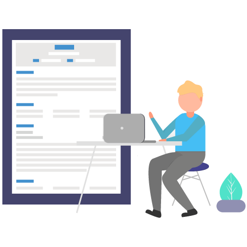 who should use text resume
