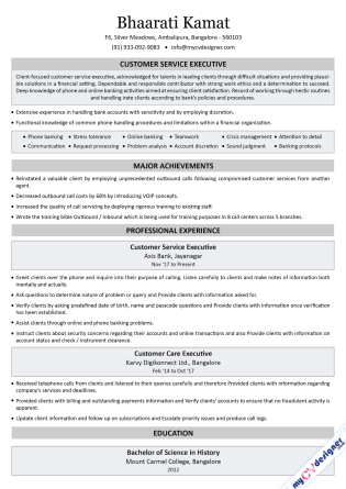 Text CV (MCDT0017)