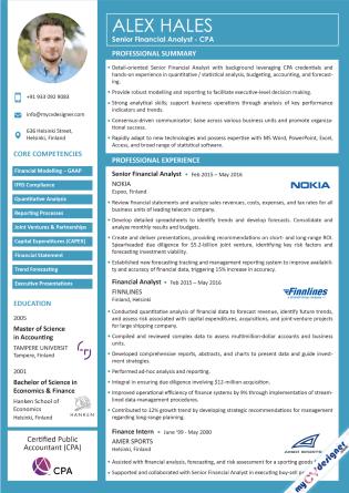 Visual CV (MCDV0043)