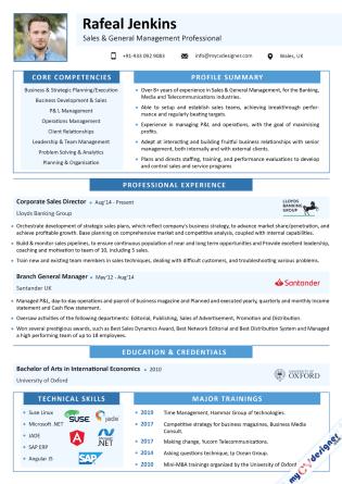 Visual CV (MCDV0039)