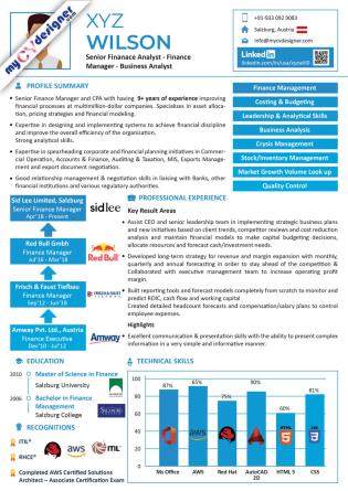 Infographic CV (MCDI0026)