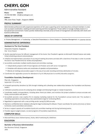 Text CV (MCDT0019)