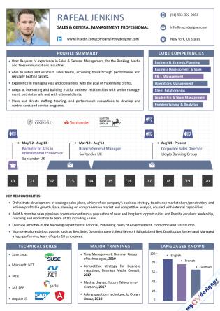 Infographic CV (MCDI0009)
