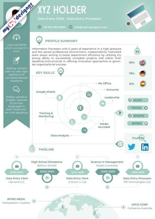 Infographic CV (MCDI0009B)