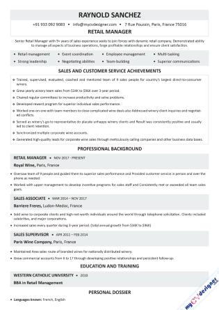 Text CV (MCDT0007)
