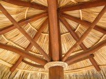 Under a new palapa: diagonals everywhere