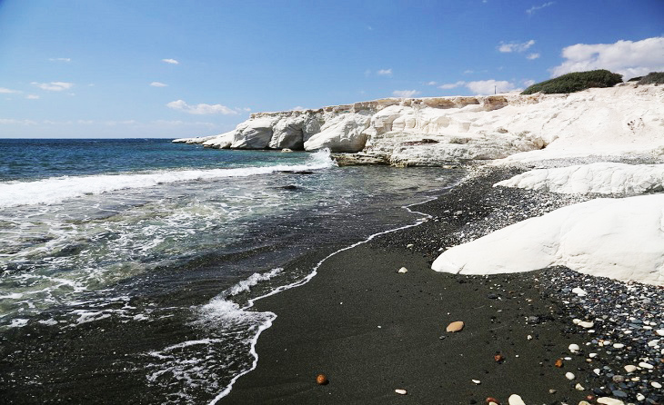 Image result for 3. White Rocks, beside Governor's Beach, Limassol