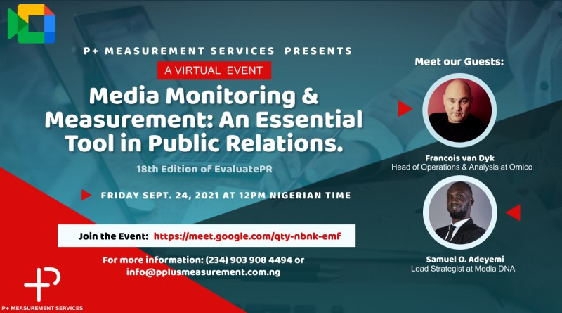 Media Intelligence Agency Holds 18th Edition of EvaluatePR Event