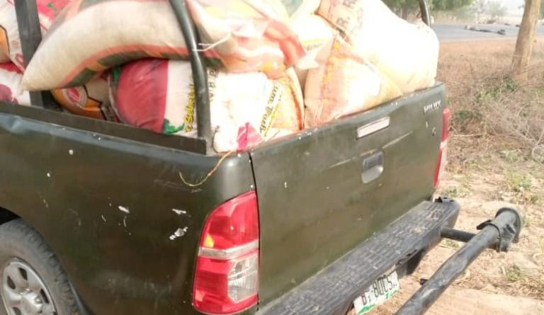 Seized foreign rice by NIS e1579412423730 768x787 1