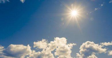 Sunny and Haz weather